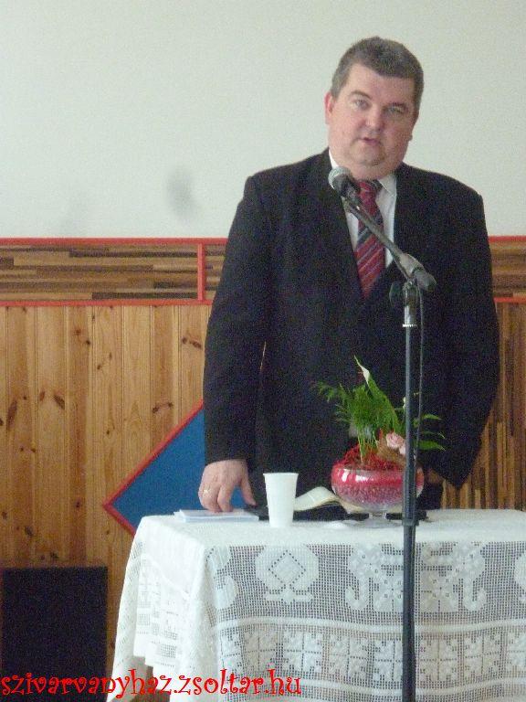 Czibere Károly a MRE Szeretetszolgálati Iroda vezetője