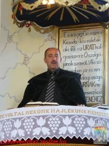 Nt. Tisza Tibor lelkipásztor