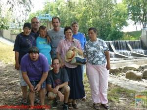 Háttérben a Bukó-gát, Tiszakóródnál